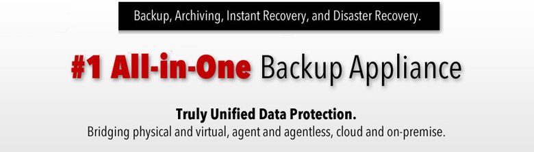 #1 All-in-One Backup Appliance